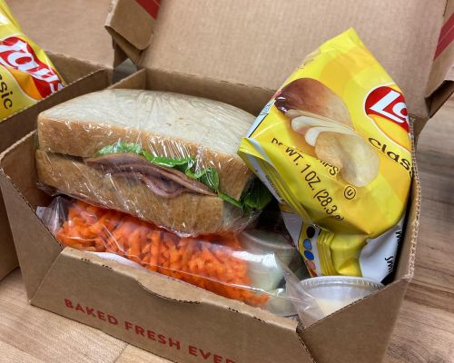 business catering office lunch