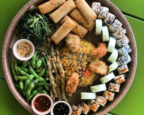 business catering sushi asian miami hallandale