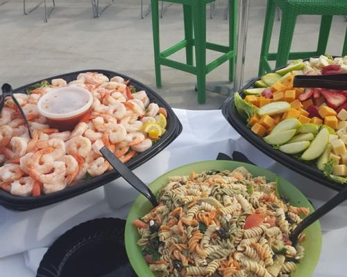 business catering team meeting food meal catering jacksonville