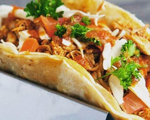 business lunch tacos mexican caterer order