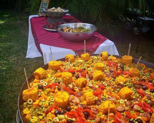 caterer food set-up event homestead