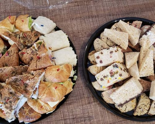 client meeting boardroom snack platter orlando