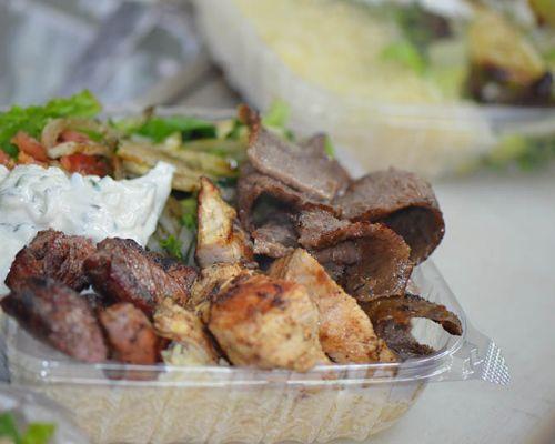 company lunch order mediterranean