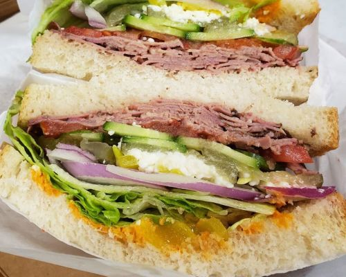 company lunch order sandwich los angeles