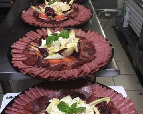 company lunch team order graze platter