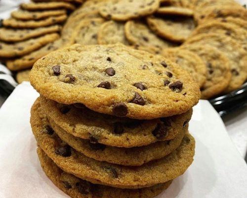 cookie platter office meeting food tray