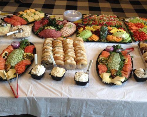 corporate breakfast meeting food catering washington dc