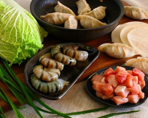 corporate catering asian hors doeuvres dumpling manhattan