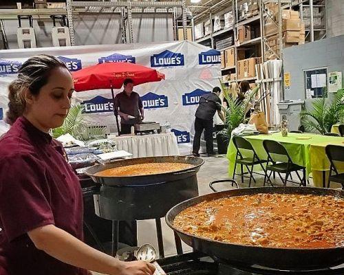 corporate event catering lunch deli