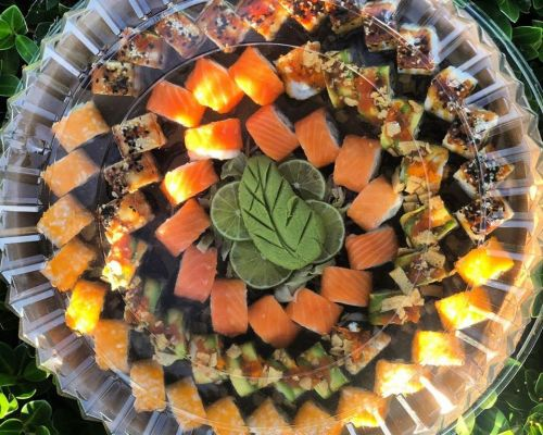corporate lunch cater sushi