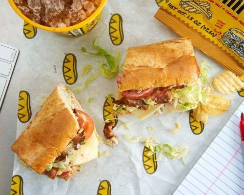 corporate lunch order chicken turkey sandwich