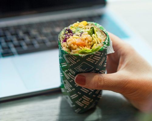 corporate lunch wrap catering