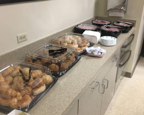corporate office breakfast catering cordova