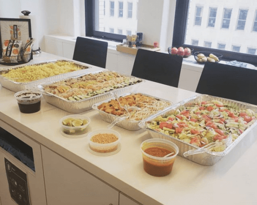 corporate thai catering