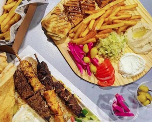 crzay falafel healthy food catering