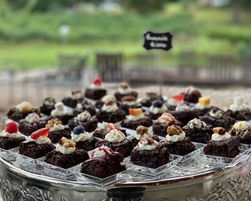 dessert party event catering