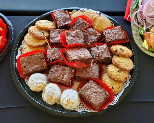 dessert platters breakfast catering