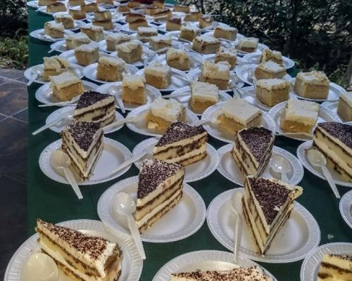 dessert table bar catering order