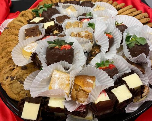 dessert trays party catering
