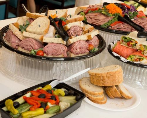 family breakfast picnic catering packages