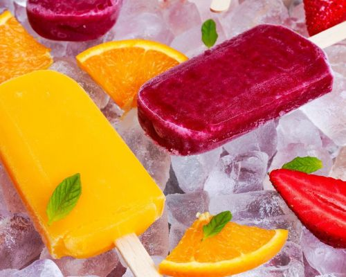 fresh fruit ice catering