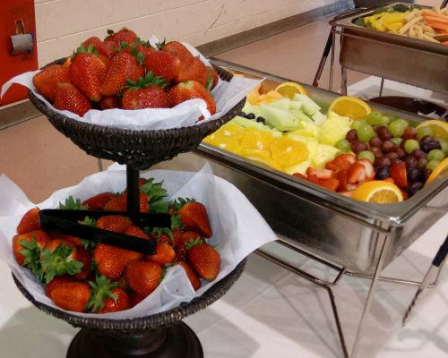 fruit platter event catering party food delivery indianapolis
