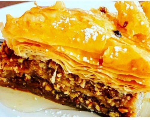 greek dessert catering baklava