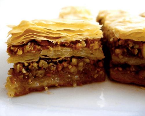 greek desserts catering austin food order