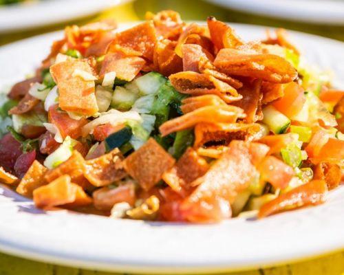 greek salad order event food
