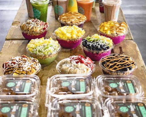 group order bulk team food delivery office snack healthy caterer