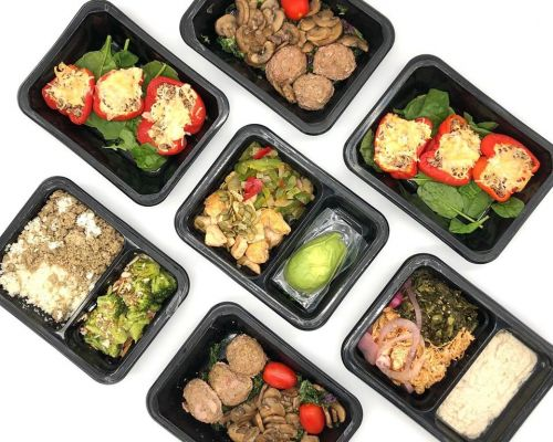 healthy boxed meals tampa corporate catering boxed office meals