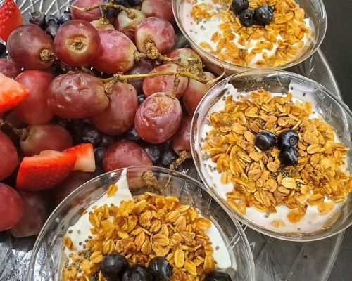 healthy breakfast food event order cater
