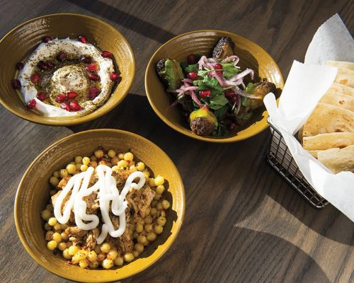 healthy grain bowls middle eastern catering food