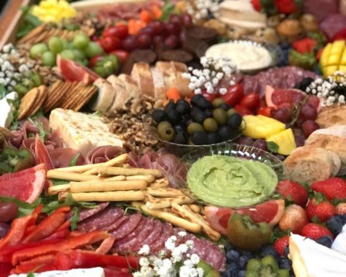 healthy graze platters business catering san francisco