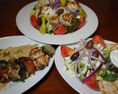 healthy greek food family catering