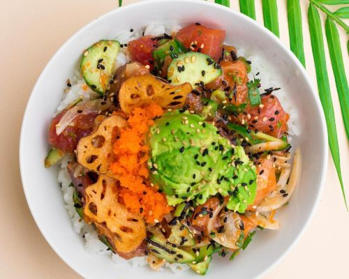 healthy ingredients food catering