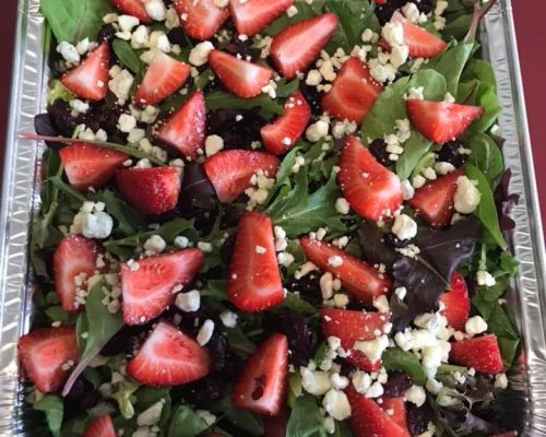 healthy office meal order business catering metairie