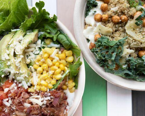 healthy salad bowl catering breakfast