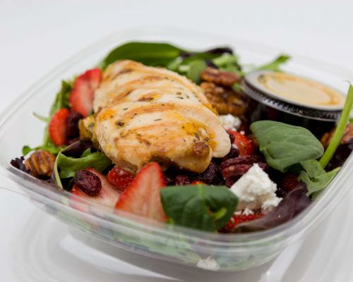 healthy salad catering boxed meals