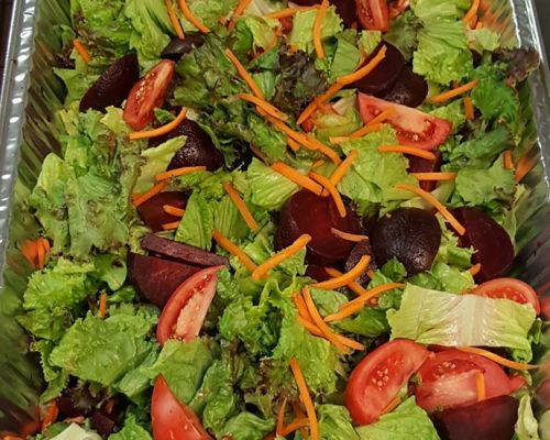 healthy salad office catering team food delivery redondo beach