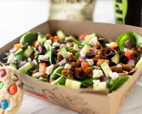 healthy salads boxed meal office food delivery