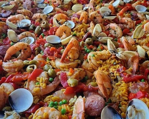 healthy seafood party catering caribbean caterer
