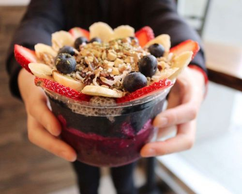 healthy smoothie bowls event catering sf