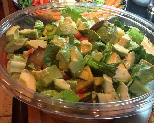healthy vegan salad office food delivery culver city