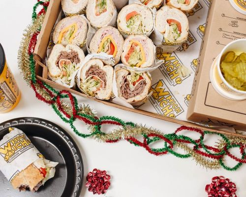 holiday catering sandwich