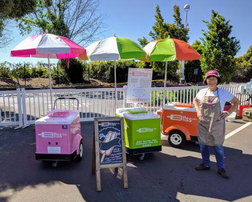pop butler cart rental