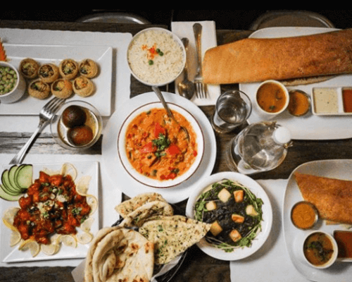 indian corporate lunch order
