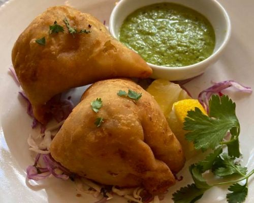 indian food catering snack samosa