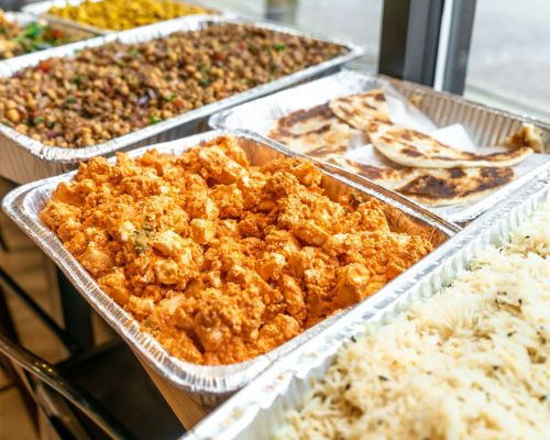 indian food corporate catering office meal order chicago