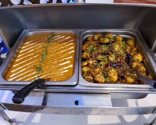 indian food trays family packages